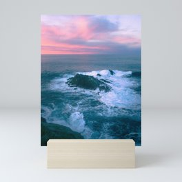 Sunset on the Bay of Biscay Mini Art Print