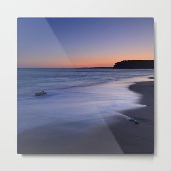 Serenity at the beach Metal Print