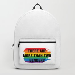 there are more than two genders Backpack