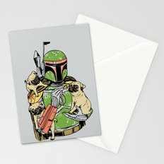 Pug Hunter Stationery Cards