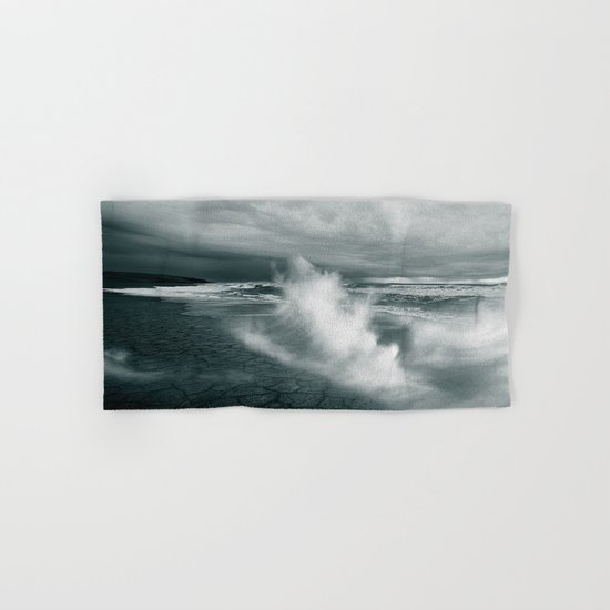 sea waves water Hand & Bath Towel