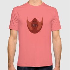 THE SILENCE OF THE LAMBS Mens Fitted Tee Pomegranate SMALL
