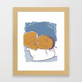 Dream A Beautiful Dream Framed Art Print