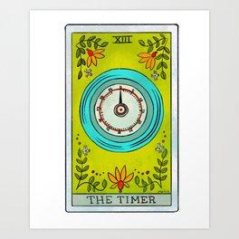 The Timer | Baker's Tarot Kunstdrucke