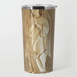 Archangel Gabriel in Prayer Travel Mug