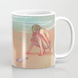 girl in sea, fish like me Coffee Mug