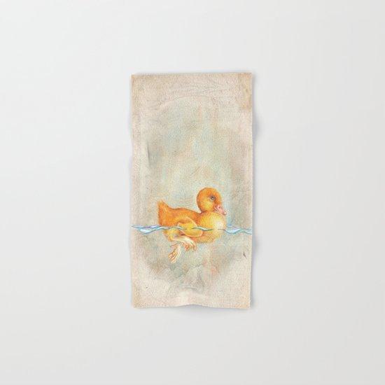 Duckling Hand & Bath Towel