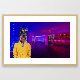 Miami Nights Framed Art Print