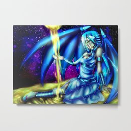 Kisara: Time Flows Out of Our Hands Metal Print