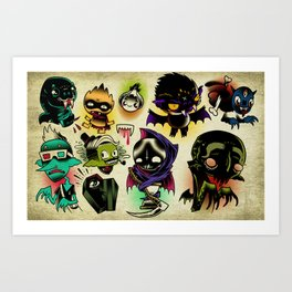 Bloosuckers Art Print