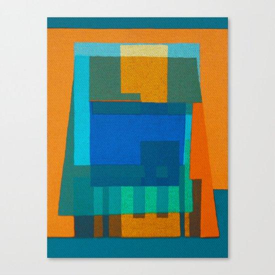 Port Pier Canvas Print