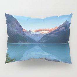 Mountains lake Pillow Sham