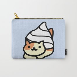 Peaches In Cream Carry-All Pouch