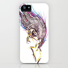 Lines In Motion iPhone Case