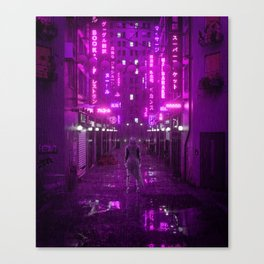 Infiltrated Canvas Print