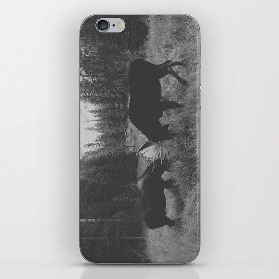Moose Battle iPhone & iPod Skin