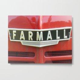Farmall Metal Print