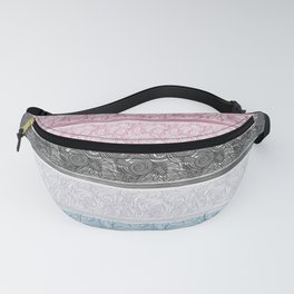 Multicolor Pattern Mix Fanny Pack