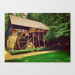 Gristmill - Charlottesville, Virginia Canvas Print