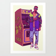 Monster Arcade Art Print