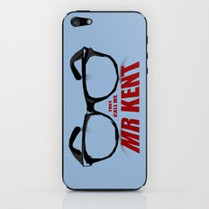 Mr Kent iPhone & iPod Skin