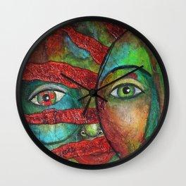Facing the Sun (circle) Wall Clock