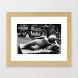 Cemetary3 Framed Art Print