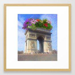 L'arc Framed Art Print