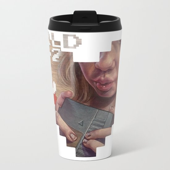 There, I fixed it. Metal Travel Mug
