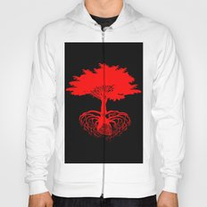 Heart Tree - Red Hoody