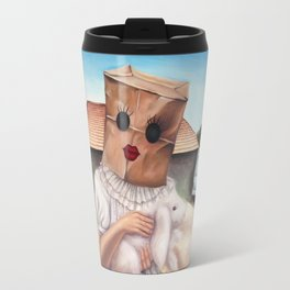 Sunday Dress Travel Mug