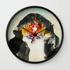 Muscle Girl Wall Clock