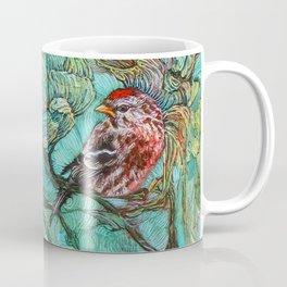 The Aquamarine Labyrinth (detail no. 2) Coffee Mug