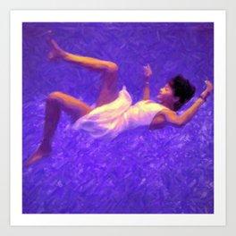 Blue Dream / Blueberry Haze Art Print