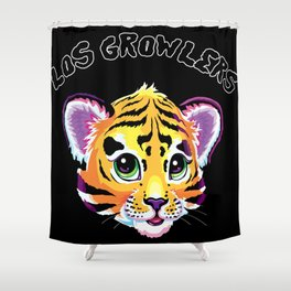 Los Growlers Shower Curtain
