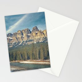 Castle Mountain Stationery Cards