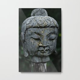 Buddha on a stick Metal Print