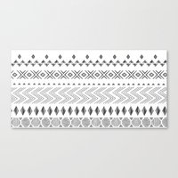 nordic Canvas Prints featuring NORDIC by Annet Weelink Design