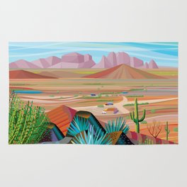 La Pimeria, West Phoenix Rug