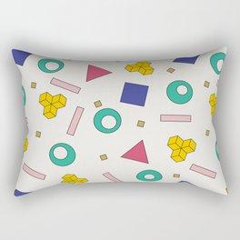 Memphis Pattern #5 Rectangular Pillow