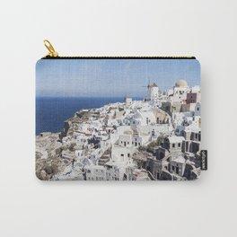 White Village in Oia, Santorini, Greece Carry-All Pouch