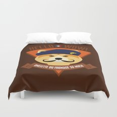 Hello wow, Omelette du Fromage So Much Duvet Cover