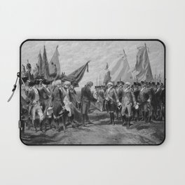 Surrender Of Cornwallis At Yorktown Laptop Sleeve
