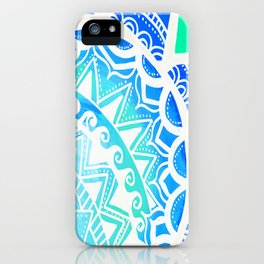 Turquoise Dream iPhone Case
