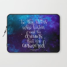 To the Stars who Listen Laptop Sleeve