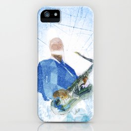 Live Music Poster iPhone Case
