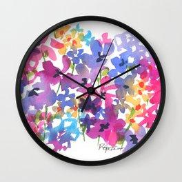 Fancy Florets Wall Clock