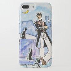 Corto Maltese with cats Slim Case iPhone 7 Plus