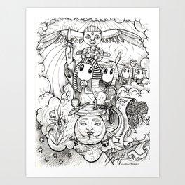 The Magus Art Print