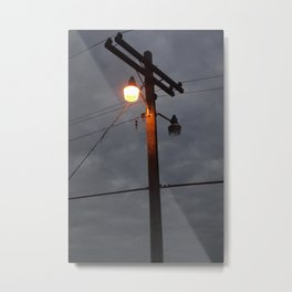 Telephone Lines Metal Print